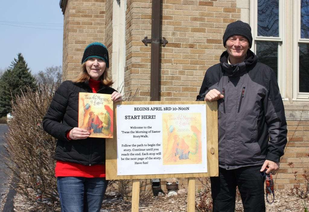 Local author's Easter book featured at First Methodist story walk
